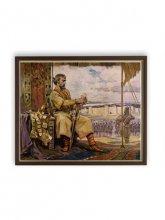 Цар Симеон I пред стените на Константинопол