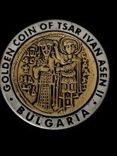 Монета на цар Иван Aсен II - магнит